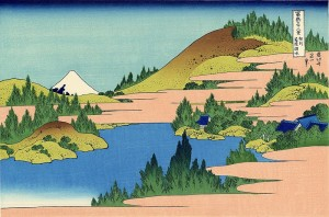 Lake Hakone_in_the_segami_province
