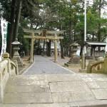 Kotonomama Hachimangu gate