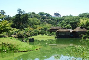 Rakurakuen landscape garden(photo by Kotodamaya)