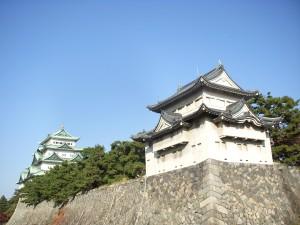 a turret of Nagoya Castle