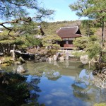 a pond garden of ginkakuji (Photo by Kotodamaya)
