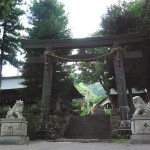 Trii gate of Maemiya (photo by Kotodamaya)