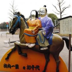Face-in-the-hole Board : Kakegawa Castle