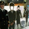 Face-in-the-hole Board : Itami Airport