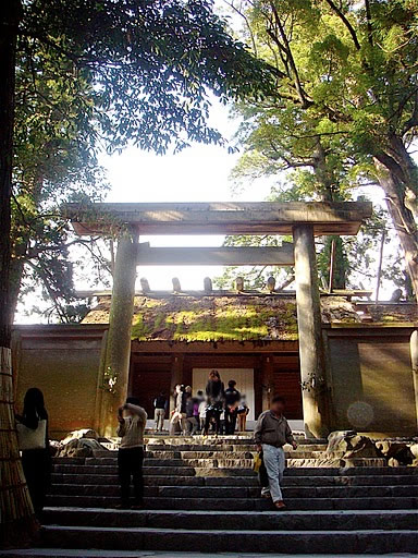 Ise jingu (shrine) by Tanja Rauh