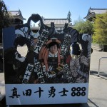Face-in-the-hole Board : Ueda Castle